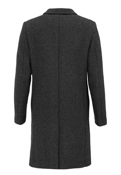 SELECTED HOMME Bone Coat Gunmetal Bubbleroom.fi