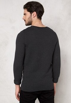 SELECTED HOMME Gary Crew Neck Dark Grey Bubbleroom.fi
