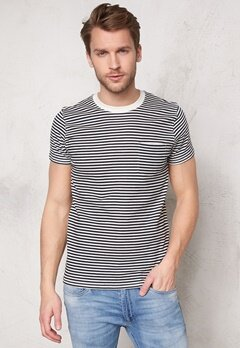 SELECTED HOMME Liam ss Tee Dark Sapphire Bubbleroom.se