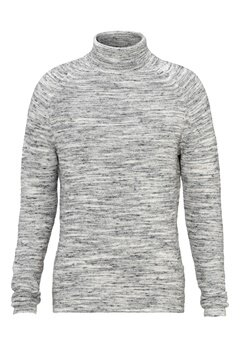 SELECTED HOMME Mattew Roll Neck Light Grey Melange Bubbleroom.se