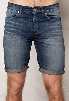SELECTED HOMME Nalex 1029 Shorts Dark Blue Denim Bubbleroom.fi