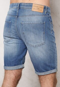 SELECTED HOMME Nalex 1029 Shorts Lt Blue Denim Bubbleroom.fi