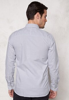 SELECTED HOMME One Fil Shirt LS Grey Bubbleroom.se