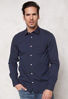 SELECTED HOMME One Fil Shirt LS Navy Blazer Bubbleroom.se