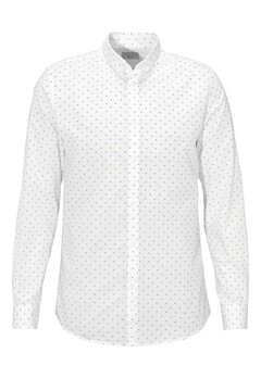 SELECTED HOMME One Lenn Shirt Bright White Bubbleroom.fi