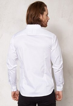 SELECTED HOMME One Travistbelfast Shirt White Bubbleroom.no