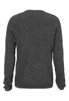 SELECTED HOMME Shane Crew Neck Medium Grey Melange Bubbleroom.fi