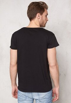 SELECTED HOMME Tristan ss O-neck Black Bubbleroom.fi