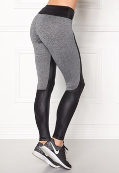 Shape Me Up Freja Tights Black/Grey melange Bubbleroom.no