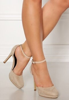Truffle Shine II High Heel Pumps Nude Bubbleroom.se