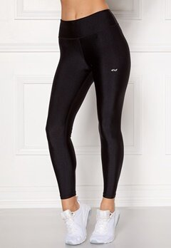 Röhnisch Shiny Training Tights Black Bubbleroom.no