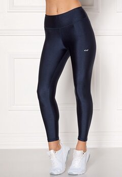 Röhnisch Shiny Training Tights Indigo Night Bubbleroom.no