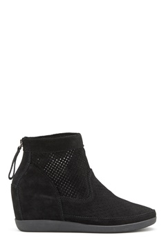 SHOE THE BEAR Emmy Suede Shoe 111 Black/Black Bubbleroom.se