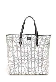 DAGMAR Shopping Bag 001 White Bubbleroom.se