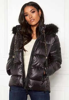 Guess Sienna Jacket Jet Black Bubbleroom.se
