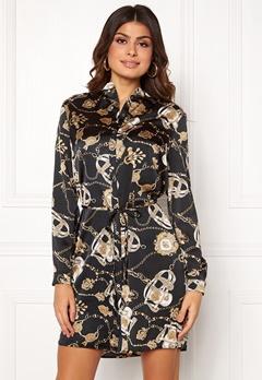 Sisters Point Effo Dress 011 Black/Chain Bubbleroom.se