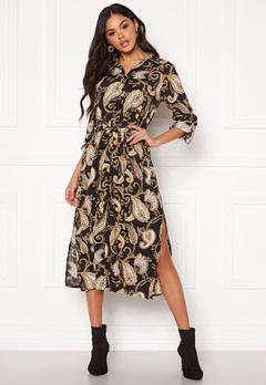 Sisters Point Eron Dress 010 Blk/Paisley/Lion Bubbleroom.se
