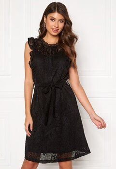 Sisters Point Etto Dress 000 Black Bubbleroom.se