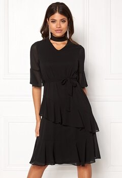 Sisters Point Gabit Dress Black Bubbleroom.fi