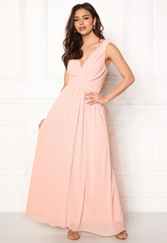 Sisters Point Gally Maxi Dress 585 Light Rose Bubbleroom.se