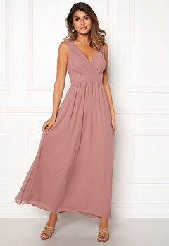 Sisters Point Gally Maxi Dress 587 Old Rose Bubbleroom.se