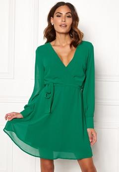 Sisters Point Gerdo Dress 301 Jade Green Bubbleroom.se