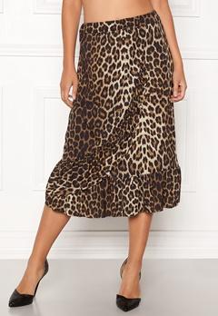 Sisters Point Givi Skirt 845 Leopard Bubbleroom.se