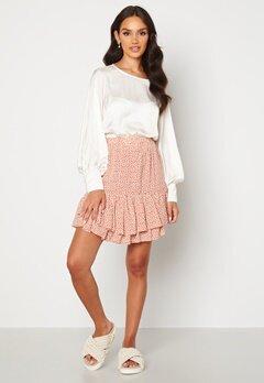 Sisters Point Grow Skirt 531 D.Blush/Cream Bubbleroom.se