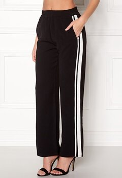 Sisters Point Gruso Pants 001 Black/White Bubbleroom.fi