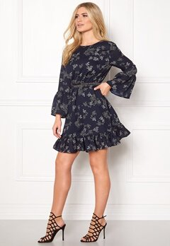 Sisters Point IFO-DR Dress Navy/Print Bubbleroom.fi