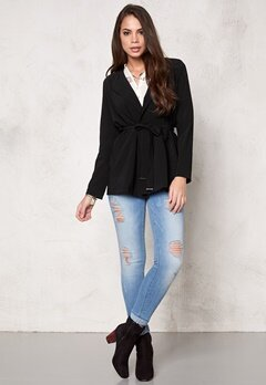 Sisters Point Lana jacket 1 Black Bubbleroom.se