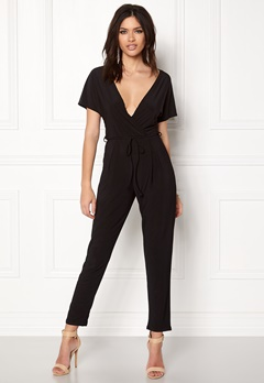 Sisters Point Loft-JU1 Jumpsuit Black Bubbleroom.fi