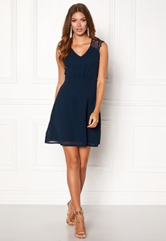 Sisters Point Nails Dress Navy/Navy Bubbleroom.fi