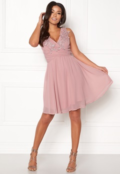 Sisters Point Nanny Dress 585 Dusty Rose Bubbleroom.fi