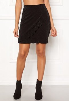 Sisters Point Napo Skirt 001 Black/Silver Bubbleroom.se