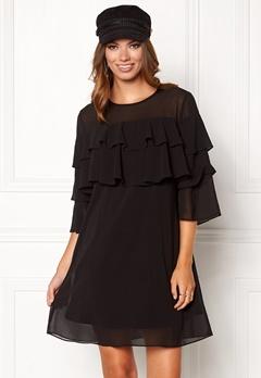 Sisters Point Nax Dress Black Bubbleroom.se