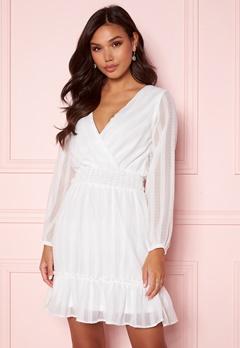 Sisters Point Nolla Dress 115 Cream bubbleroom.se