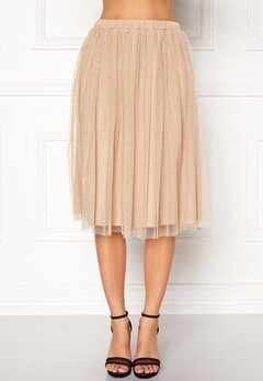 Sisters Point Noodle Skirt Stone/Gold Bubbleroom.no