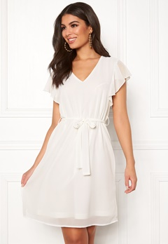 Sisters Point Nubi Dress Creme Bubbleroom.se c9983b6b3ff49