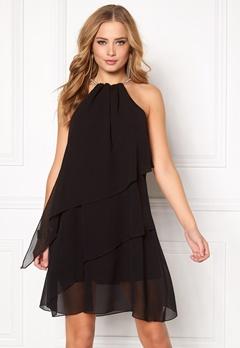 Sisters Point Nyv Dress Black Bubbleroom.fi