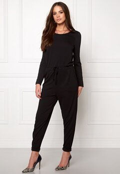 Sisters Point Seni Jumpsuit Black Bubbleroom.se