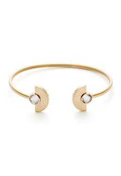 BY JOLIMA Skiathos Bracelet Crystal Gold Bubbleroom.se
