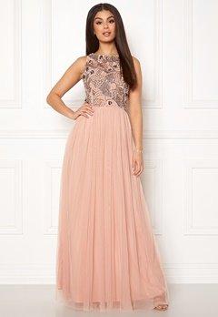 AngelEye Sleeveless Sequin Dress Taupe Bubbleroom.se