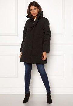 Svea Slim Fit Padded Jacket 900 Black Bubbleroom.se