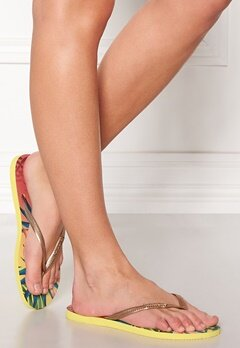 Havaianas Slim Flip-Flop Light yellow Bubbleroom.se