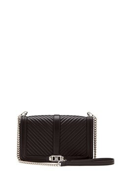 Rebecca Minkoff Slim Love Crossbody Bag Black Bubbleroom.se