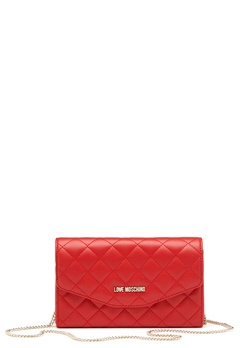 Love Moschino Small Bag 500 Red Bubbleroom.se