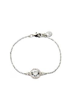 SNÖ of Sweden Lissy Chain Bracelet Silver/Clear Bubbleroom.se