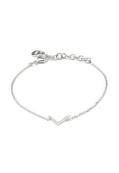 SNÖ of Sweden Path Chain Bracelet Silver Bubbleroom.se