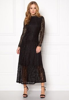 SOAKED IN LUXURY Lilo Dress Black Bubbleroom.se